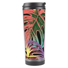 Leaves Tropical Jungle Pattern Travel Tumbler