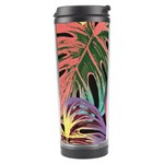 Leaves Tropical Jungle Pattern Travel Tumbler Left