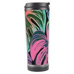 Leaves Tropical Jungle Pattern Travel Tumbler Center