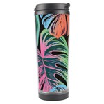Leaves Tropical Jungle Pattern Travel Tumbler Right