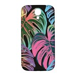 Leaves Tropical Jungle Pattern Samsung Galaxy S4 I9500/I9505  Hardshell Back Case Front