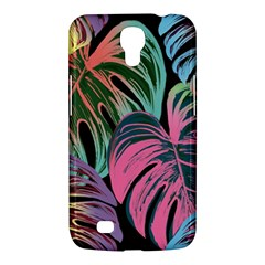 Leaves Tropical Jungle Pattern Samsung Galaxy Mega 6 3  I9200 Hardshell Case by Nexatart