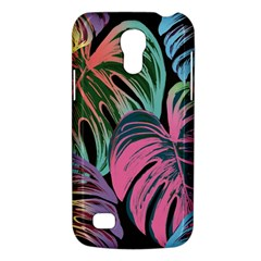 Leaves Tropical Jungle Pattern Samsung Galaxy S4 Mini (gt I9190) Hardshell Case  by Nexatart