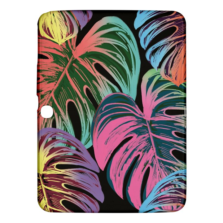 Leaves Tropical Jungle Pattern Samsung Galaxy Tab 3 (10.1 ) P5200 Hardshell Case
