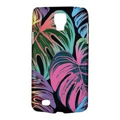 Leaves Tropical Jungle Pattern Samsung Galaxy S4 Active (i9295) Hardshell Case