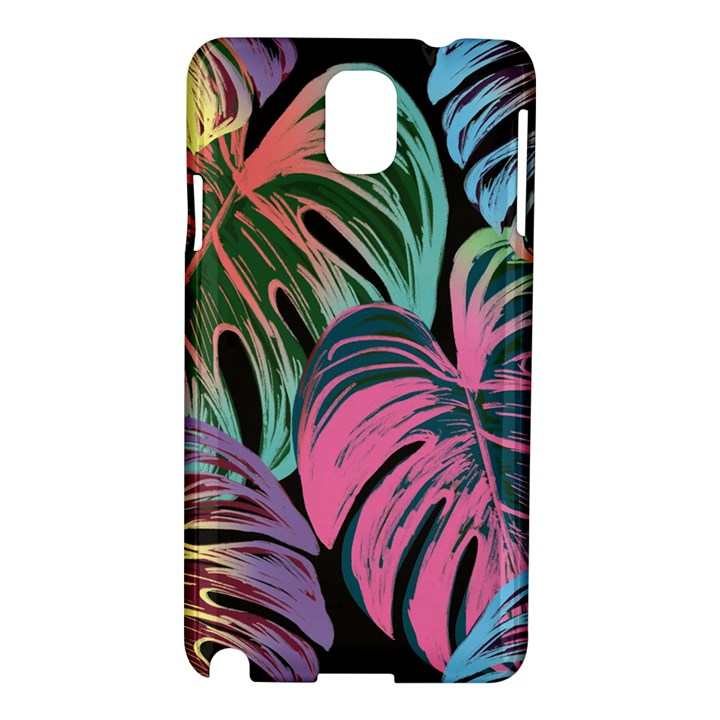 Leaves Tropical Jungle Pattern Samsung Galaxy Note 3 N9005 Hardshell Case