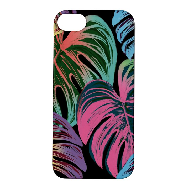 Leaves Tropical Jungle Pattern Apple iPhone 5S/ SE Hardshell Case