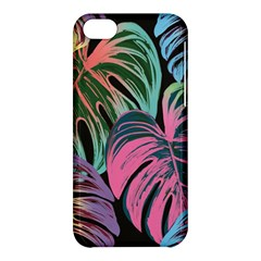 Leaves Tropical Jungle Pattern Apple Iphone 5c Hardshell Case