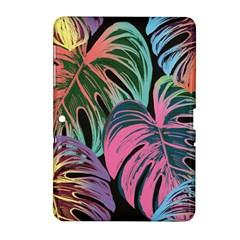 Leaves Tropical Jungle Pattern Samsung Galaxy Tab 2 (10 1 ) P5100 Hardshell Case