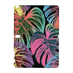 Leaves Tropical Jungle Pattern Samsung Galaxy Note 10 1 (p600) Hardshell Case