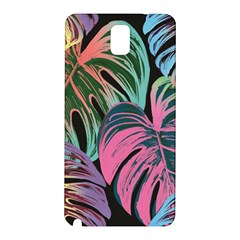 Leaves Tropical Jungle Pattern Samsung Galaxy Note 3 N9005 Hardshell Back Case