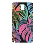Leaves Tropical Jungle Pattern Samsung Galaxy Note 3 N9005 Hardshell Back Case Front