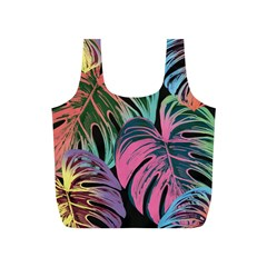 Leaves Tropical Jungle Pattern Full Print Recycle Bag (s)