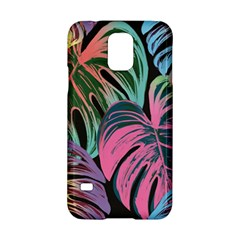 Leaves Tropical Jungle Pattern Samsung Galaxy S5 Hardshell Case  by Nexatart