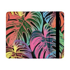 Leaves Tropical Jungle Pattern Samsung Galaxy Tab Pro 8 4  Flip Case