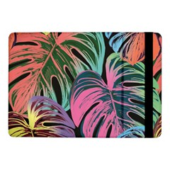 Leaves Tropical Jungle Pattern Samsung Galaxy Tab Pro 10 1  Flip Case