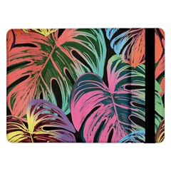 Leaves Tropical Jungle Pattern Samsung Galaxy Tab Pro 12 2  Flip Case
