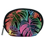 Leaves Tropical Jungle Pattern Accessory Pouch (Medium) Front