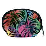 Leaves Tropical Jungle Pattern Accessory Pouch (Medium) Back