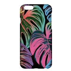 Leaves Tropical Jungle Pattern Apple Iphone 6 Plus/6s Plus Hardshell Case by Nexatart