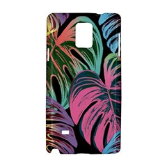 Leaves Tropical Jungle Pattern Samsung Galaxy Note 4 Hardshell Case