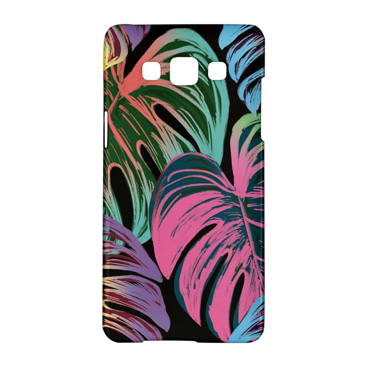 Leaves Tropical Jungle Pattern Samsung Galaxy A5 Hardshell Case