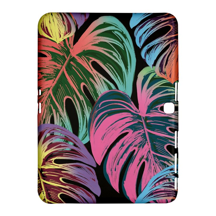 Leaves Tropical Jungle Pattern Samsung Galaxy Tab 4 (10.1 ) Hardshell Case