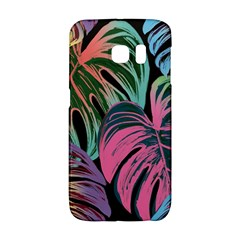 Leaves Tropical Jungle Pattern Samsung Galaxy S6 Edge Hardshell Case
