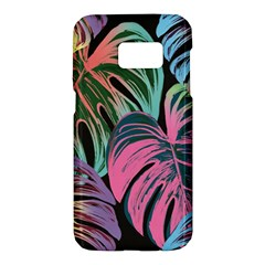 Leaves Tropical Jungle Pattern Samsung Galaxy S7 Hardshell Case