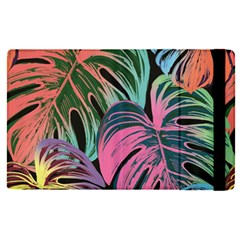 Leaves Tropical Jungle Pattern Apple Ipad Pro 9 7   Flip Case