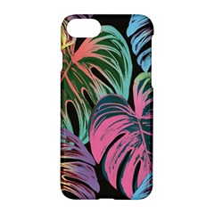 Leaves Tropical Jungle Pattern Apple Iphone 7 Hardshell Case by Nexatart