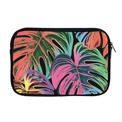 Leaves Tropical Jungle Pattern Apple Macbook Pro 17  Zipper Case