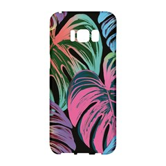 Leaves Tropical Jungle Pattern Samsung Galaxy S8 Hardshell Case