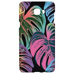 Leaves Tropical Jungle Pattern Samsung C9 Pro Hardshell Case