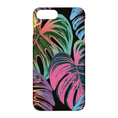 Leaves Tropical Jungle Pattern Apple Iphone 8 Plus Hardshell Case by Nexatart