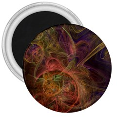 Abstract Colorful Art Design 3  Magnets by Nexatart