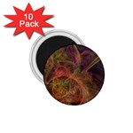Abstract Colorful Art Design 1.75  Magnets (10 pack)  Front