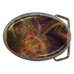 Abstract Colorful Art Design Belt Buckles
