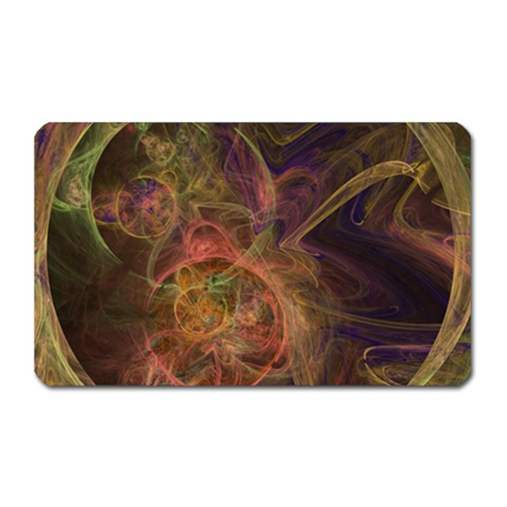 Abstract Colorful Art Design Magnet (Rectangular)