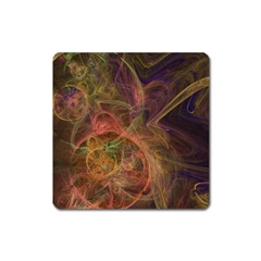 Abstract Colorful Art Design Square Magnet