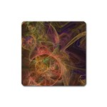 Abstract Colorful Art Design Square Magnet Front