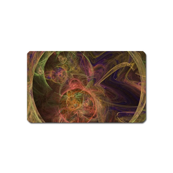 Abstract Colorful Art Design Magnet (Name Card)