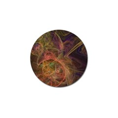 Abstract Colorful Art Design Golf Ball Marker