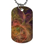 Abstract Colorful Art Design Dog Tag (Two Sides) Front