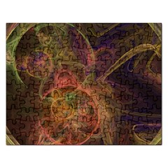 Abstract Colorful Art Design Rectangular Jigsaw Puzzl