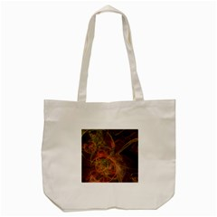 Abstract Colorful Art Design Tote Bag (cream)