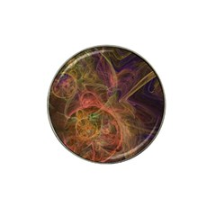 Abstract Colorful Art Design Hat Clip Ball Marker (4 Pack)