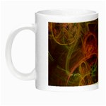 Abstract Colorful Art Design Night Luminous Mugs Left