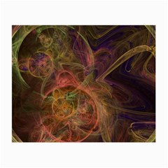 Abstract Colorful Art Design Small Glasses Cloth