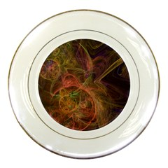 Abstract Colorful Art Design Porcelain Plates